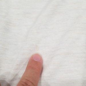 Madewell Tops - Madewell boatneck cream long sleeve tee